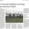 Artikel in Den Haag Centraal