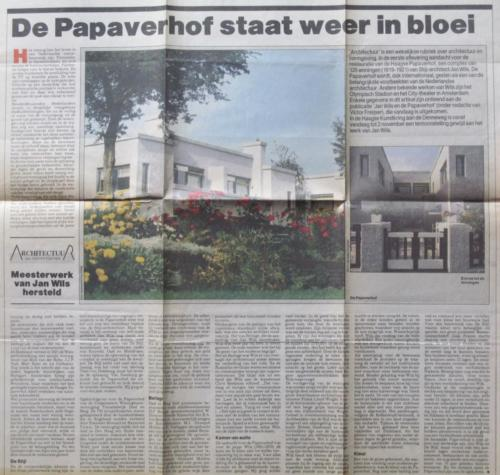 De Papaverhof staat weer in bloei Casper Postmaa